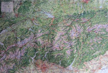 XL Map Alps 1:250.000