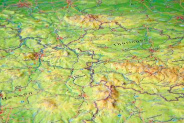 raised relief map germany detail2