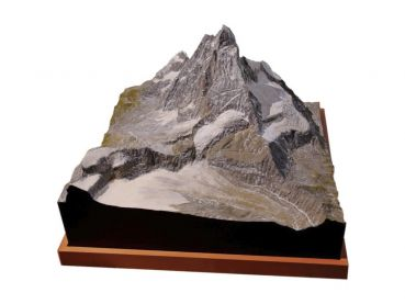 Matterhorn Mountain model east