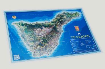 Relief Map of Tenerife