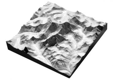 Mount Everest, 1: 100.000