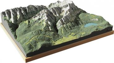 Mountain Model Zugspitze