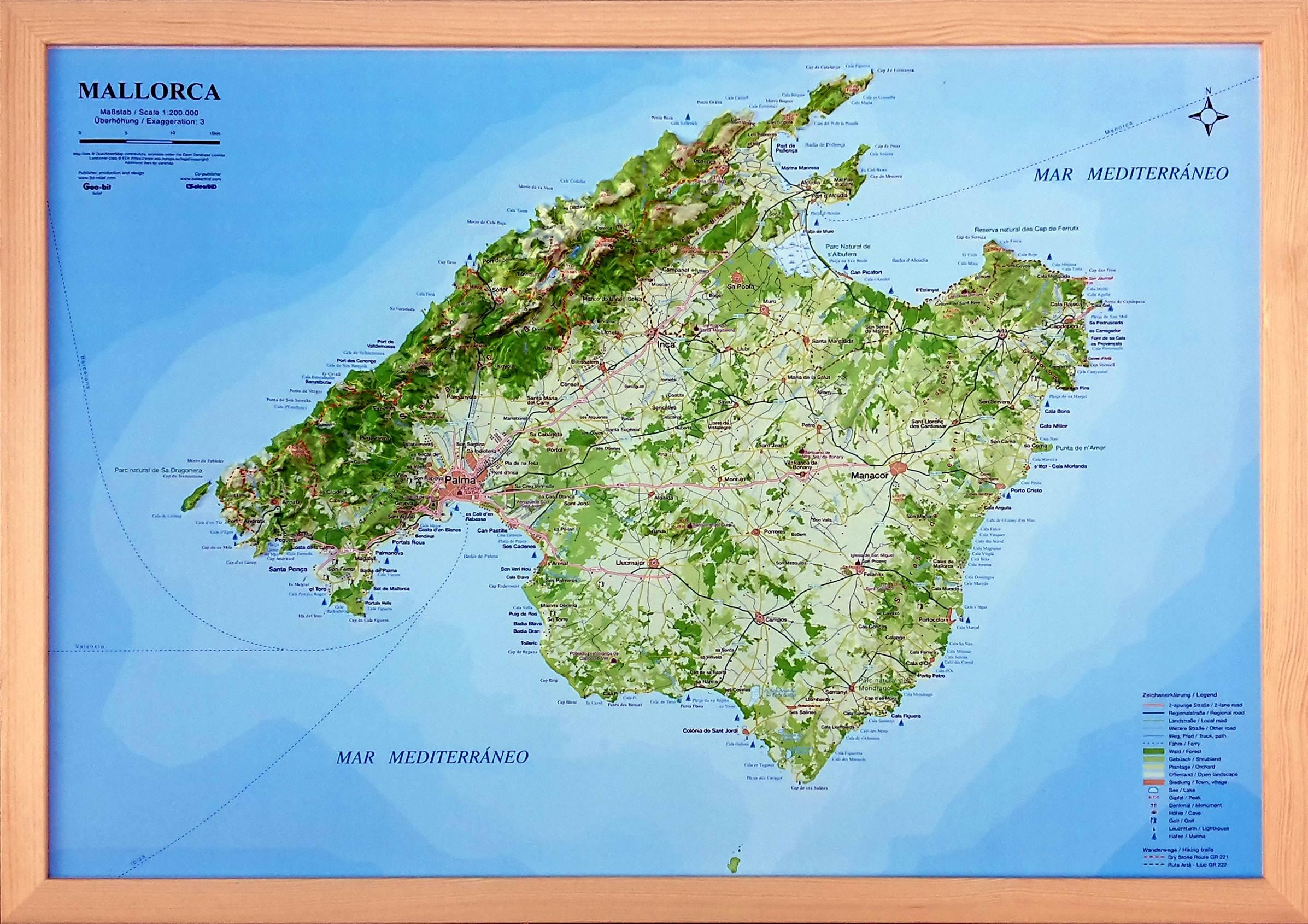 Mallorca Karte Sa Coma.Top 10 Punto Medio Noticias Majorca Spain Map