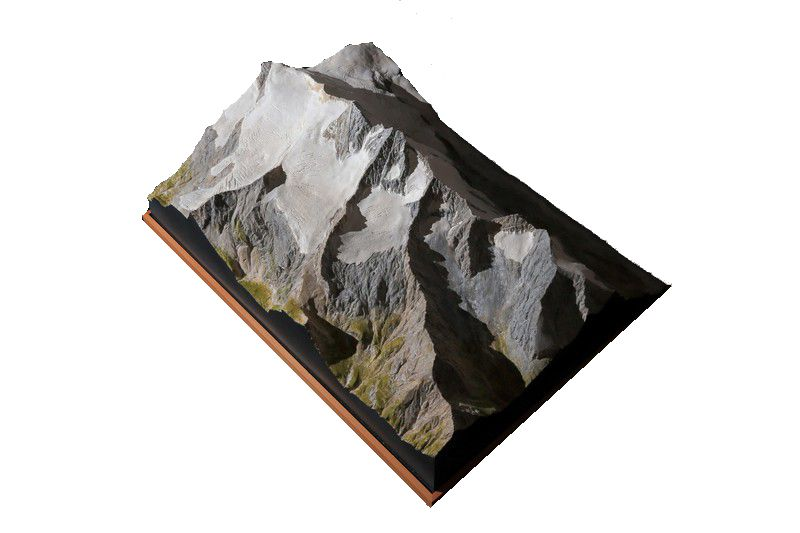 Mountain  model Großglockner 1:10.000
